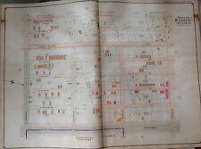 1907 MIDWOOD BOROUGH PARK WASHINGTON CEMETERY AV M TO AV J BROOKLYN NY ATLAS MAP