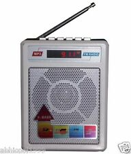 Sonilex SL SERIES FM Portable Transistor/Radio/Speaker/USB/SD MP3 Player+Display