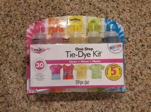 Tulip One-Step Tie-Dye Kit 5 Colors- Neon (America's Favorite Tie-Dye!)