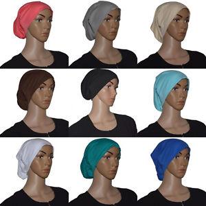 Bone Untertuch Kopftuch Hijab Islam Arabisch Orientalisch Baumwolle Neu