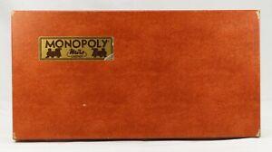 Ancien Vintage 1961 Jeu De Société MONOPOLY Par Miro Company Complet