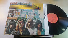 THE SWEET Desolation Boulevard us 1975 capitol F1 F1 GLAM ROCK vinyl LP st11395!