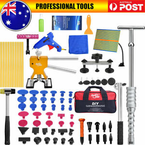 PDR Tools Auto Paintless Dent Repair Puller Lifter Hammer Line Board Removal Kit