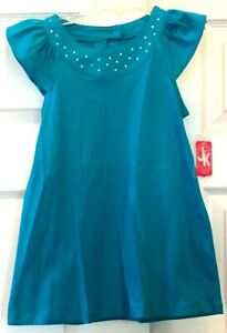 Girls Blue Short Sleeve Shirt by J KHAKI size Small  New with Tags