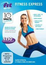 Fit for Fun - 10 Minute Solution: Fitness Express [5 DVDs/NEU/OVP]