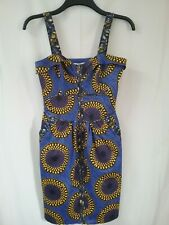 African Style Dress New With Tags Size 10.