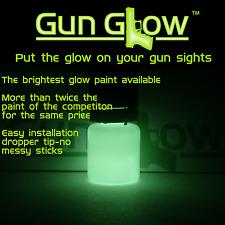 Gun sights paint-Gun Glow-get gun glow on your gun sights-glow in the dark 5ml