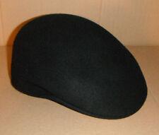 BILTMORE MENS 100% WOOL MEDIUM NEW IVY CABBIE driving cap CUFFLEY HAT BLACK eddc4e707ed0