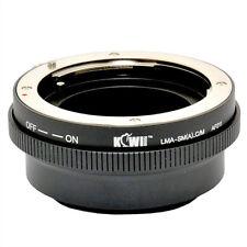 Bague Montage Adaptateur Sony Alpha / Minolta AF lens pour caméra Canon EOS EF-M