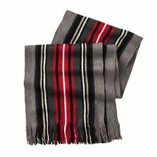 Men's  Van Heusen Acrylic Scarf With Fringed Ends ~ New With Tags