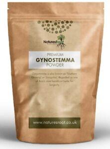 Gynostemma Leaf Powder - Jiaogulan   Super Herb   Premium Herbal Tea   Natural