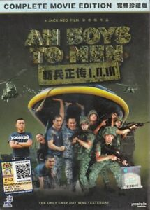 Ah Boys to Men 1 2 3  DVD Singapore Movie English Sub _ PAL Region 0
