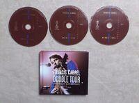 """CD AUDIO MUSIQUE / FRANÇIS CABREL """"DOUBLE TOUR"""" 3XCD ALBUM LIVE BOOK DIGIPACK"""