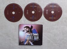 "CD AUDIO MUSIQUE / FRANÇIS CABREL ""DOUBLE TOUR"" 3XCD ALBUM LIVE BOOK DIGIPACK"