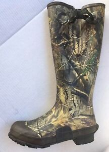 Cabelas Real Tree AP HD Boot Mens Size 9 Uninsulated Steel Shank