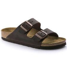 Birkenstock Arizona Classic Sandals - Waxy Leather - Habana Brown
