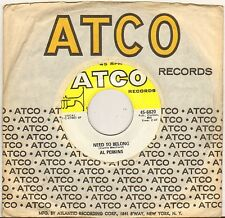 "AL PERKINS ""NEED TO BELONG"" NORTHERN SOUL 60'S SP ATCO 45-6820"