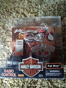 Harley Davidson Fat Boy RC Toy Collector Edition