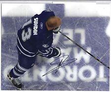 Mats Sundin Toronto Maple Leafs Signed Autographed 8x10