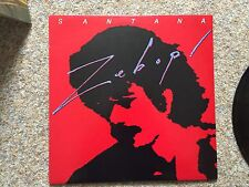 "Original  ZEBOP  by SANTANA Vinyl 12"" LP Record"