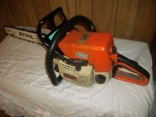 "STIHL 025 CHAINSAW WITH 18"" BAR RUNS PERFECTLY, NICE CLEAN SAW"
