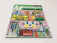 Beep! Mega Drive Magazine 1990/2 Japan SEGA GENESIS VERMILLION THE SUPER SHINOBI