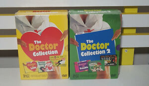 DVDS THE DOCTOR COLLECTIONS 1 AND 2 SEALED IN PLASTIC 6 MOVIES!