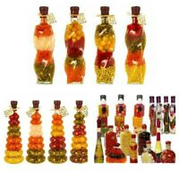 MODERN KITCHEN GLASS BOTTLE DECORATION VINTAGE VASE TABLE FRUIT VEGETABLE DECOR