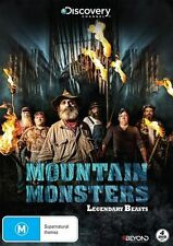 Mountain Monsters - Legendary Beasts (DVD, 2017, 4-Disc Set) SEALED