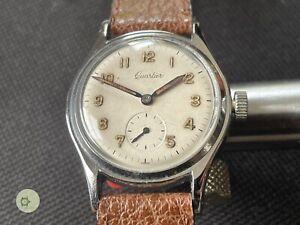 Awesome mens vintage QUARTIER Swiss winding watch 15 J  c1945 cal PARRENIN 87
