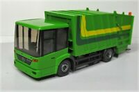 Wiking 1:87 Mercedes Benz Econic Pressmüllwagen OVP 0638 04 gelbgrün System Faun