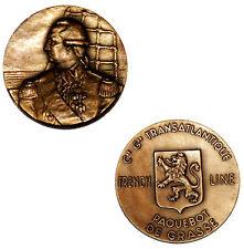 RARE MEDAILLE BRONZE PAQUEBOT DE GRASSE  COMPAGNIE GENERALE TRANSATLANTIQUE   铜牌