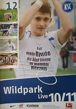 Programm 2010/11 Karlsruher SC - FC Ingolstadt