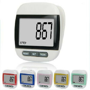 Multi-function Large LCD Run Step Pedometer Walking distance Calorie Counter