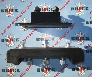 1957-1958 Buick Transmission Mounting Kit. Thrust Pad and Trans Mount