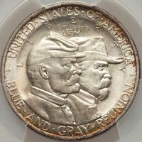 1936 Battle of Gettysburg Commemorative Silver Half Dollar PCGS MS 66 CAC LUSTER