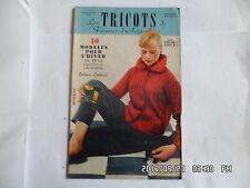 LES TRICOTS DE FEMMES D'AUJOURD'HUI N°98 1957 MODELES FEMME ENFANT HOMME    J46