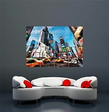 New York City Times Square Poster Art Print XXL Géant WA255