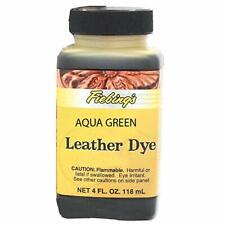 Fiebings - Leather Dye, Alcohol Based4 Fl.Oz. 118 Ml-, Aqua Green.