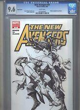 New Avengers #31 CGC 9.6 (2007) 1:50 Sketch Variant Brian Michael Bendis