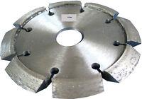 Diamant- Fugenfräser V -Segmente 125 x 10 x 12 mm Nutenfräser Diamantscheibe NFV