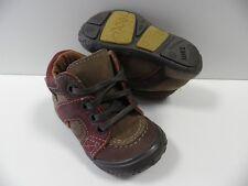 Chaussures NOEL mini rue marron GARCON taille 18 enfant shoes boy child NEUF