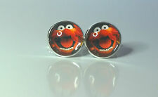 "The Muppets ""Animal"" Glass domed Retro cufflinks"