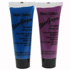 2 X Stargazer Belleza Piel Uv Cara Y Cuerpo De Pintura De Neón Azul & Purple