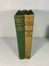 Make It New by Ezra Pound (2 first issue copies)