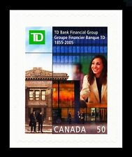 CANADA 2005 CANADIAN TD BANK FINANCIAL GROUP MINT FACE 50 CENT MNH BOOKLET STAMP
