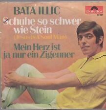 "7"" Bata Illic Schuhe so schwer wie Stein (Jesus Is A Soul Man) 60`s Polydor 53"