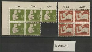 Germany 1956 MNH issues S-20328