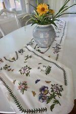 "Portmeirion Botanic Garden Table Runner 14"" X 90"" Floral Excellent Condition"