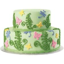 Wilton FONDANT and GUM PASTE Mold Cake Decorating FERN BUTTERFLY Design Silicone